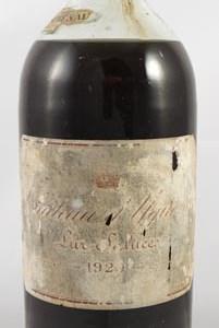 1920 Chateau d' Yquem 1920 1er Cru Sauternes