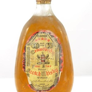 1950's Crawfords Five Star Scotch Whisky (1950s bottling)