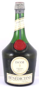 1950's bottling Benedictine Liqueur (50's bottling)