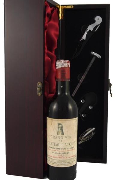 1953 Chateau Latour 1953 1er Grand Cru Classe Pauillac (1/2 bottle)