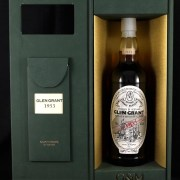 1953 Glen Grant Single 53 Year old Highland Malt Whisky 1953