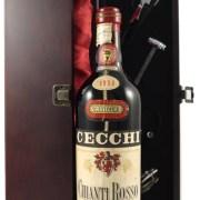 1958 Chianti Rosso Colli Senesi 1958 Cecchi