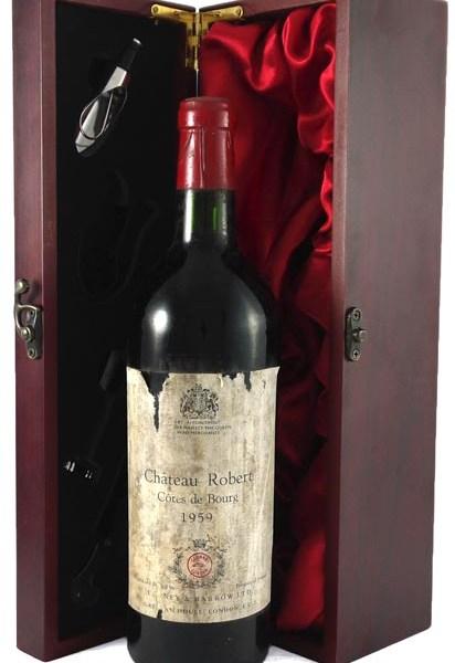 1959 Chateau Robert 1959 Bordeaux (1/2 bottle)