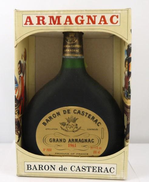 1961 Casterac Grand Bas Armagnac 1961 (70cl)