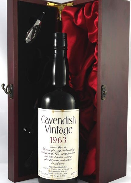 1963 Cavendish Vin de Liqueur Late bottled Vintage 1963