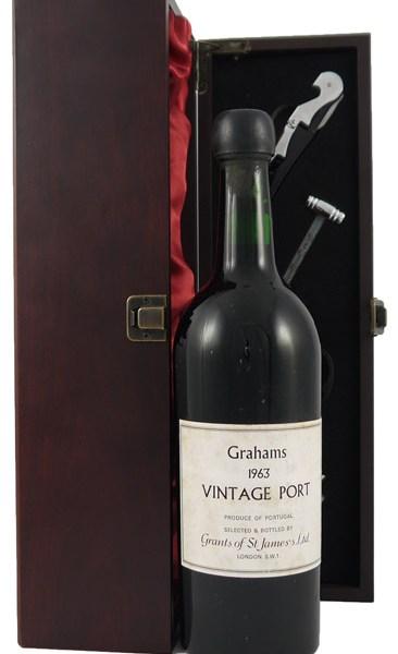 1963 Grahams Vintage Port 1963
