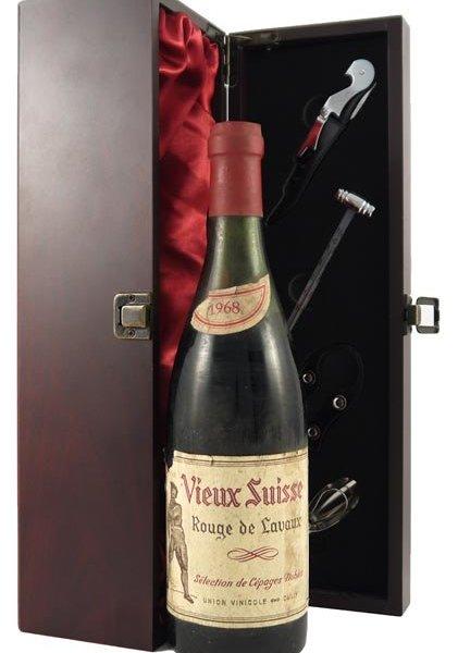 1968 Vieux Suisse 'Rouge de Lavaux' 1968 Selection de Cepages Nobles
