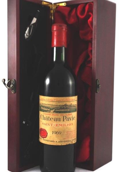 1969 Chateau Pavie 1969 St Emilion Premier Grand Classe