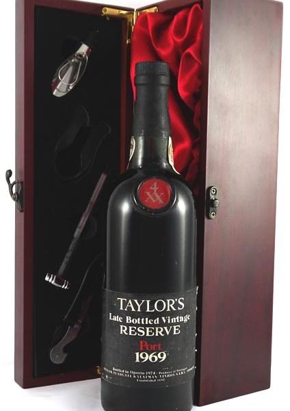 1969 Taylor's Late Bottled Vintage Reserve Port 1969