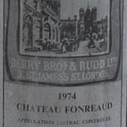 1974 Chateau Fonreaud 1974  Medoc