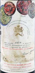 1978 Chateau Mouton Rothschild 1978 1er Grand Cru Classe Pauillac
