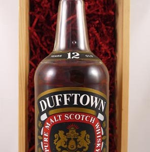 1980's Dufftown Glenlivet 12 Years Old Speyside Single Malt Scotch Whisky Distillery Bottling 100cls