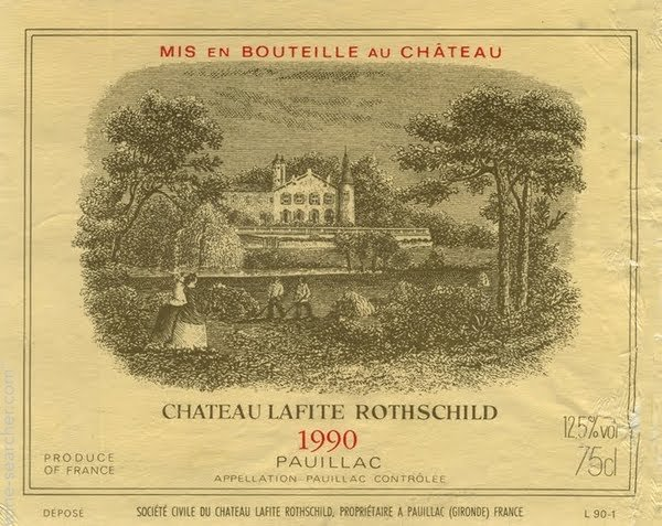 1990 Chateau Lafite 12 bottle OWC 1990