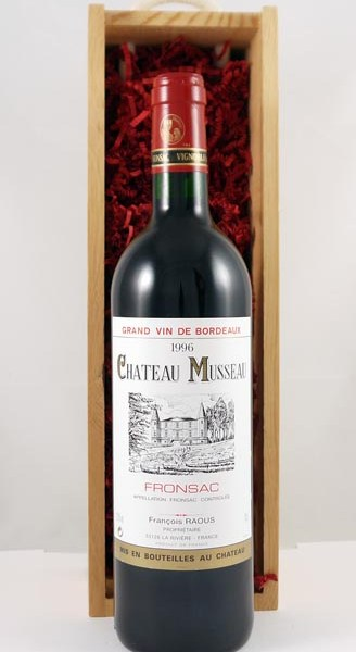 1996 Chateau Musseau 1996 Bordeaux