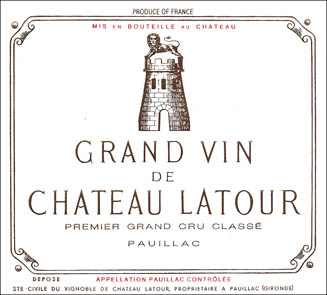 2001 Chateau Latour 12  bottle OWC 2001