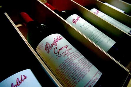 2002  Grange 1 X 6  bottle OWC 2002