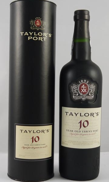 2007 Taylor Fladgate 10 year old Tawny Port (75cls) in Presentation tube