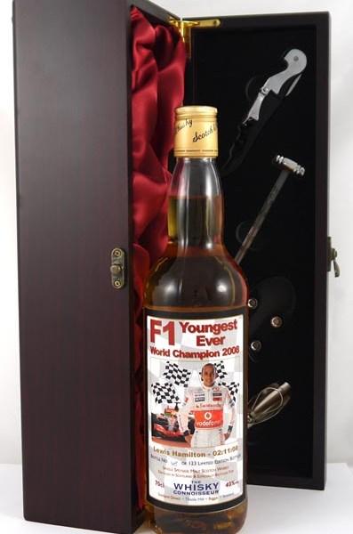 2008 F1 Youngest Ever World Champion Single Speyside Malt Scotch Whisky 2008