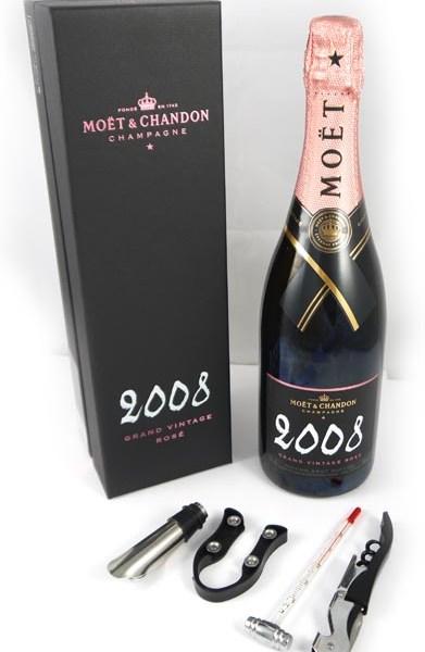 2008 Moet & Chandon Grand Rose Vintage Champagne 2008