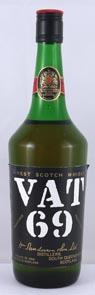 (60's bottling)  VAT 69 Finest Scotch Whisky (60's bottling)