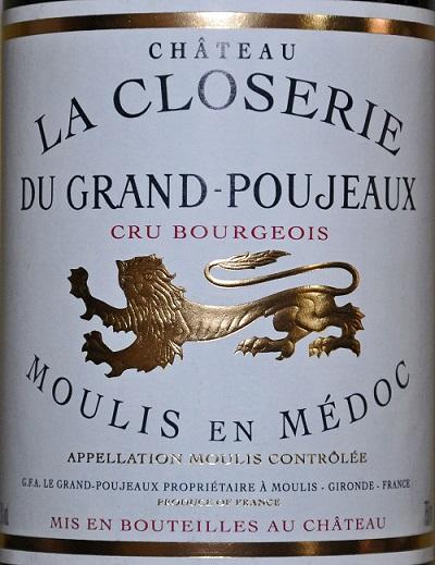 Château La Closerie du Grand Poujeaux