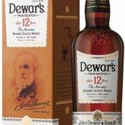 Dewars - 12 Year Old Double Aged 70cl Bottle