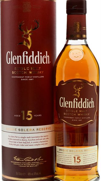 Glenfiddich - 15 Year Old 70cl Bottle