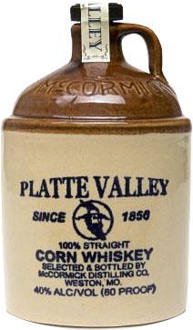 Platte Valley - Corn Whiskey 70cl Bottle