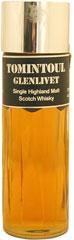 Tomintoul Glenlivet Highland Scotch Whisky Perfume Shape (1980's)