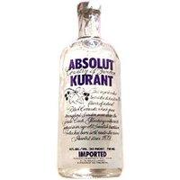 Absolut - Kurant (Blackcurrant) 70cl Bottle