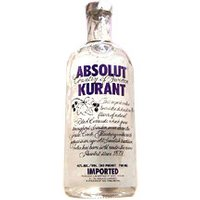 Absolut - Kurant (Blackcurrant) 70cl Bottle