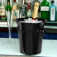 Acrylic Wine & Champagne Bucket Black (Single)