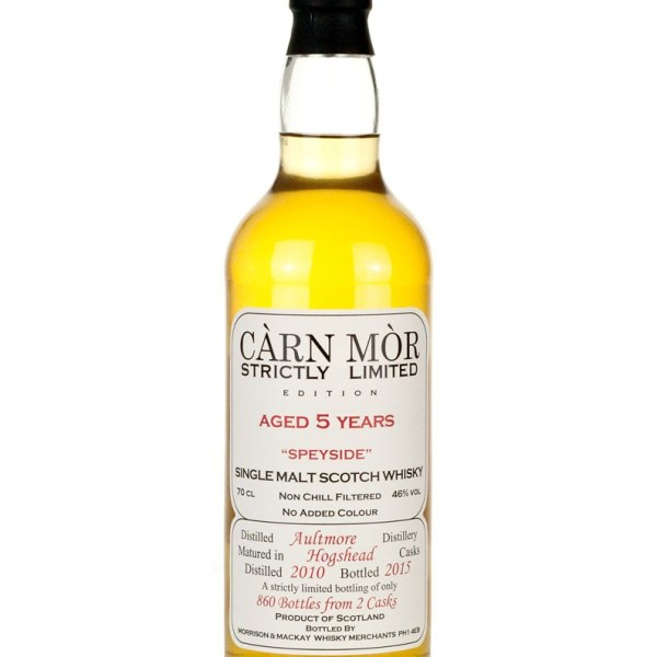 Aultmore 5 Year Old 2010 Carn Mor Strictly