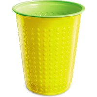 Bicolor Cups Yellow/Green 7oz / 210ml (Case of 1200)