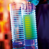 Black Light Hiball Glasses 10.9oz / 310ml (Pack of 6)