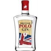 British Polo Gin - No.3 Botanical 70cl Bottle