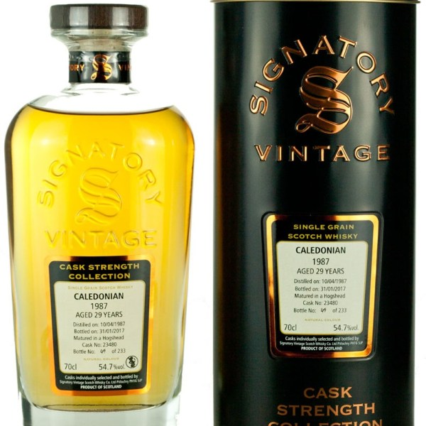 Caledonian 29 Year Old 1987 Signatory Cask Strength