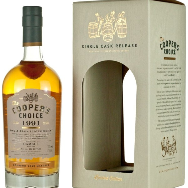 Cambus 24 Year Old 1991 Cooper's Choice