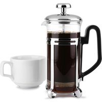 Chrome Cafetiere 3 Cup (Pack of 6)