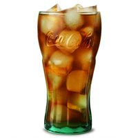 Coca Cola Green Glasses 23oz / 650ml (Pack of 4)
