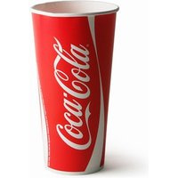 Coca Cola Paper Cups 22oz / 630ml (Case of 1000)
