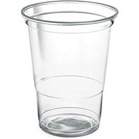Disposable Beer Tumblers 16oz / 500ml (Sleeve of 50)