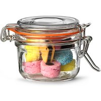 Genware Glass Terrine Jar 4oz / 125ml (Case of 12)