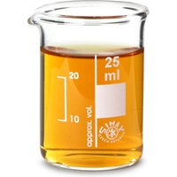 Glass Measuring Beaker 25ml (Set of 6)