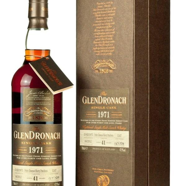 Glendronach 41 Year Old 1971 Batch 6