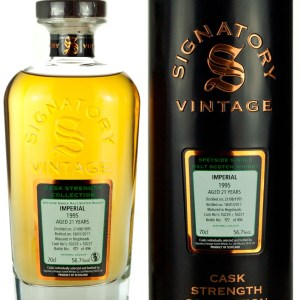 Imperial 21 Year Old 1995 Signatory Cask Strength