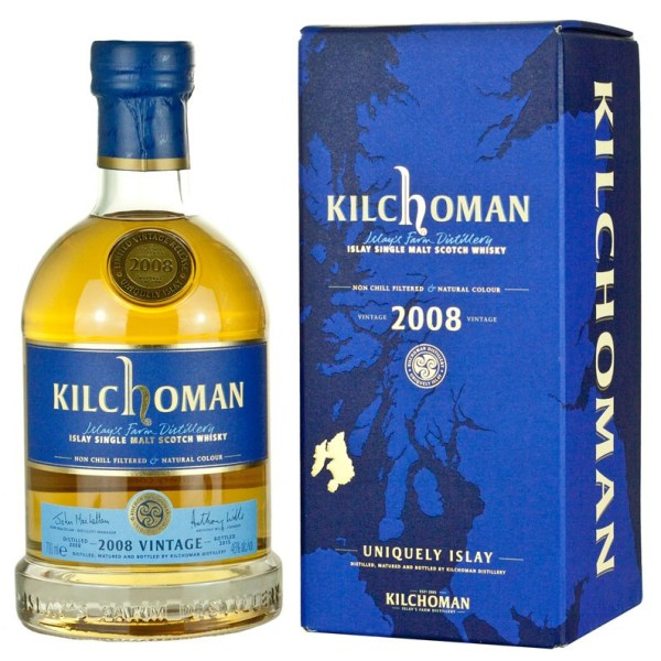 Kilchoman 7 Year Old 2008 Vintage