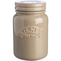 Kilner Ceramic Storage Jars Pebble Grey 0.6ltr (Single)