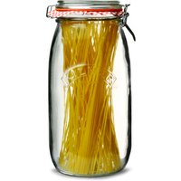 Kilner Round Clip Top Jar 3ltr (Case of 6)