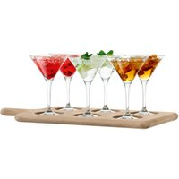 LSA Paddle Cocktail Set & Oak Paddle